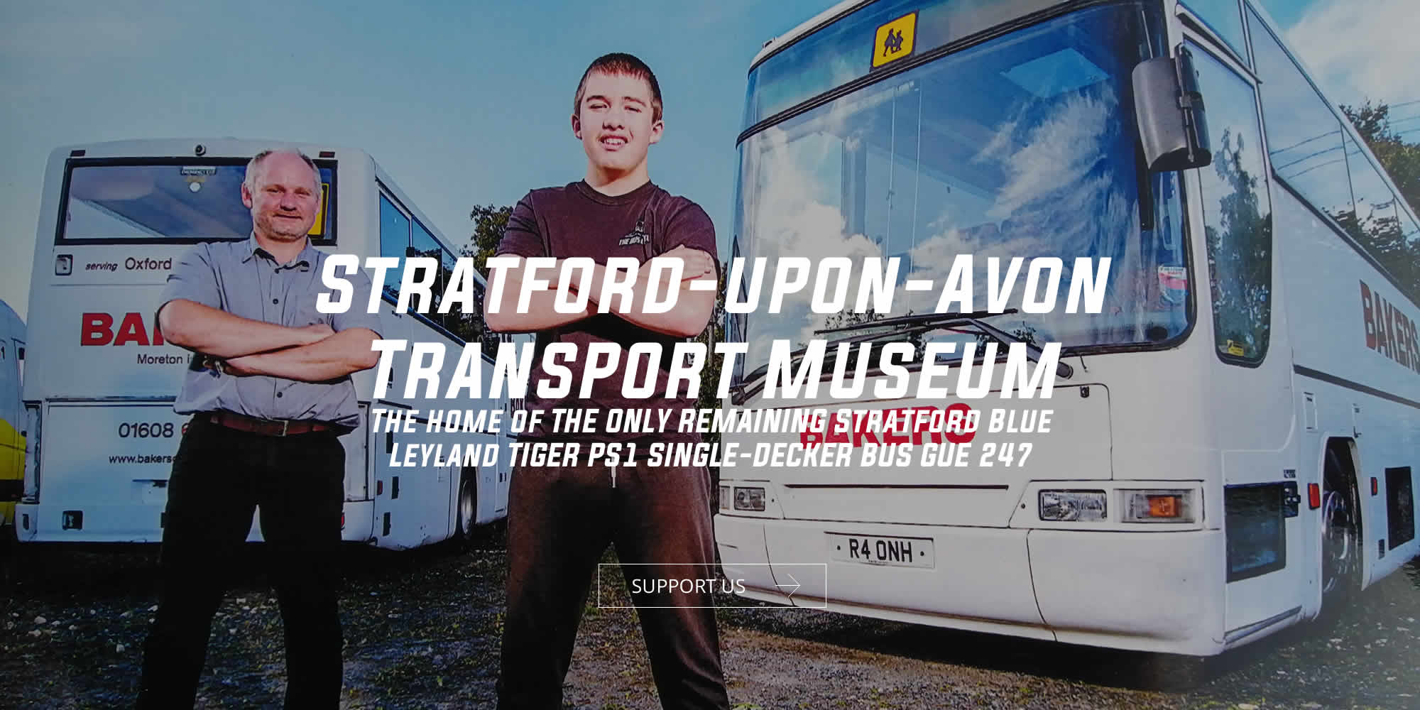 Stratford-upon-Avon Transport Museum - The home of the only remaining Stratford Blue Tiger Bus